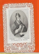 P19B    DEVOTIEPRENTJE  ST FRANCISCUS V. SALES - Religion & Esotericism