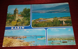 KARIN, CROATIA, ORIGINAL OLD POSTCARD - Croatia