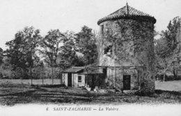 75Mé    83 Saint Zacharie La Voliere En TBE - Saint-Zacharie