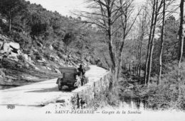 75Mé    83 Saint Zacharie Gorges De La Sambuc Tacot En TBE - Saint-Zacharie
