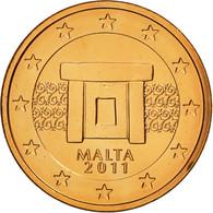 Malte, Euro Cent, 2011, SPL, Copper Plated Steel, KM:125 - Malta
