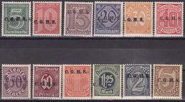 OBERSCHLESIEN 1920  Mi 8 - 20  DIENST MH*
