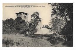 SAINT GERMAIN LAVAL  (cpa 42) Commanderie De Malte De St-jean De Jérusalem  -   - L 1 - Saint Germain Laval