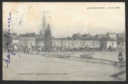 BASSE INDRE Inondations 1904 Appontements Au Debarcadère () Loire Atlantique (44) - Basse-Indre