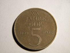 ALLEMAGNE - RDA. 5 MARK 1969. - [ 6] 1949-1990 : RDA - Rép. Démo. Allemande