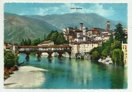 BASSANO DEL GRAPPA PONTE DEGLI ALPINI E CIMA GRAPPA  VIAGGIATA FG - Vicenza