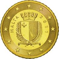 Malte, 50 Euro Cent, 2011, SPL, Laiton, KM:130 - Malta