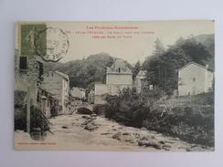 Ax-les-Thermes  Le Vieux Pont Sur L'Ariège Près Des Bains Du Teich - Ax Les Thermes