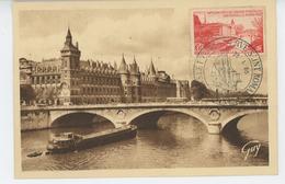 PARIS - VIème Arrondissement - La Seine, Le Pont Au Change, La Conciergerie - Cachet Du MUSEE POSTAL Du 23/01/55 - Arrondissement: 06
