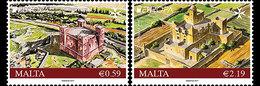 Malta / Malte - Postfris / MNH - Complete Set Europa, Kastelen 2017 - Malta