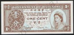 Hong Kong DEALER LOT ( 5 Pcs ) P 325 B - 1 Cent 1971 1981 - UNC - Hong Kong