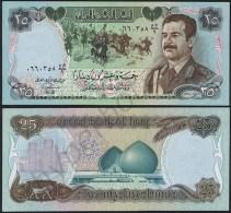 Iraq P 73 - 25 Dinars 1986 - UNC - Iraq