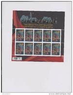 Belgie -Belgique 4279 Velletje Van 10 Postfris - Feuillet De 10 Timbres Neufs  - Feest Van Sint - Maarten - Feuilles Complètes