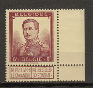 Belgie - Belgique Ocb Nr :  122  ** MNH  (zie  Scan) Pellens