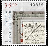 Noorwegen / Norway - Postfris / MNH - Nationaal Archief 2017 - Unused Stamps