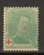 Belgie - Belgique Ocb Nr :  129a  ** MNH  (zie  Scan) Croix Rouge