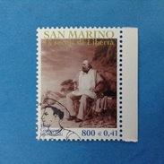 2000 SAN MARINO FRANCOBOLLO USATO STAMP USED - Fondazione Repubblica Garibaldi 0,41- - San Marino