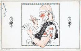 BUVARD Illustré Par RENE VINCENT - Laboratoire PEPIN & LEBOUCQ (1930) - Les Stupéfactions D'hippocrate : L'ordonnance - Produits Pharmaceutiques