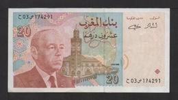 Banque Du Maroc : 20 DIRHAMS . 1996 . - Marocco