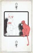 BUVARD Illustré Par RENE VINCENT - Laboratoire PEPIN & LEBOUCQ (1930) - Les Stupéfactions D'hippocrate : Singe - Produits Pharmaceutiques