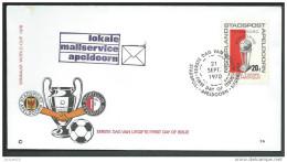 Nederland Stadspost Apeldoorn 1970 Met Zegel Feyenoord Worldcup 1970 - 1949-1980 (Juliana)
