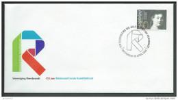 Nederland Envelop 100 Jaar Vereniging Rembrandt 1983 Met Zegel NVPH 1284 - Netherlands