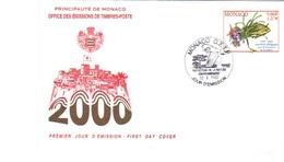ASSOCIATION MONEGASQUE POUR LA PROTECTION DE L´ENVIRONNEMENT - FDC  MONACO De 2000