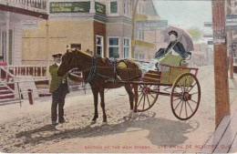 Canada Ste Anne de Beaupre Section Of Main Street