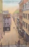 Canada Quebec Little Champlain Street