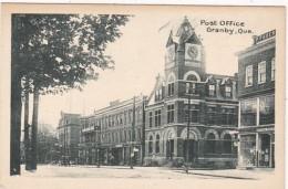 Canada Granby Post Office - Granby