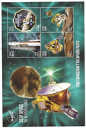 2015 Ghana NASA Space Planets New Horizons Visits Pluto Astronomy  Complete Set Of 2 Sheets  MNH  BELOW FACE VALUE - Ghana (1957-...)