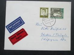 Berlin 1964 MiF Luftpost / Eilboten / Expres. Bahnpost Zug 02483. Berlin - Idstein Taunus - Berlin (West)