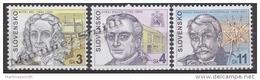 Slovakia - Slovaquie 1999 Yvert 287-89 Famous People - MNH - Nuevos