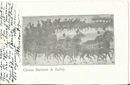 Amerika USA Circus Barnum & Bailey - Postkaarten