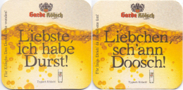 #D142-198 Viltje Zur Garde - Sous-bocks