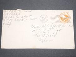 ETATS UNIS - Entier Postal Militaire En 1945 Pour Northfield - L 7589