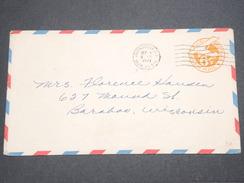 ETATS UNIS - Entier Postal Militaire De Jacksonville ( Naval Air Sta ) En 1945 Pour Baraboo - L 7590