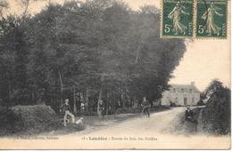 22 LOUDEAC  1917 Entrée Du Bois Des Noëlles - Loudéac