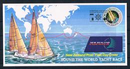 (88) Neuseeland 1994 Round The World Yacht Race - Brief