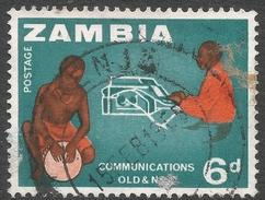 Zambia. 1964 Definitives. 6d Used. SG 99 - Zambia (1965-...)