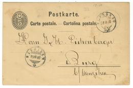 Suisse // Schweiz // Switzerland //  Entier Postaux // Entier Postal  Au Départ De Klingnau Le 28.02.1880 - Entiers Postaux