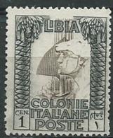 ITALIE -  LIBYE  - Yvert N° 22 (*)  -  Bce4801 - Libië