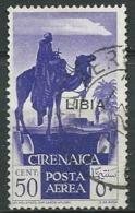 Italie  - Libye  -  Aérien  -  Yvert N°  3 Oblitéré    -   Bce 4823 - Libya
