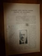 1917 LSELV :L'esprit Seul Peut-il Guérir Toutes Les Maladies ? (par Le Dr Philipon); La Retraite Allemande - Andere
