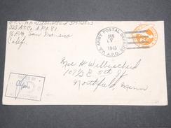 ETATS - UNIS - Entier Postal Militaire De San Fransisco Pour Northfield En 1945 Avec Contrôle Postal - L 7602