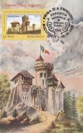 60456- VLAD THE IMPALER, DRACULA, CASTLE, LEGENDS, MAXIMUM CARD, OBLIT FDC, 2006, ROMANIA