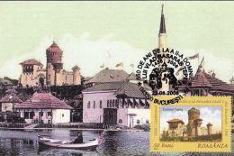 60457- VLAD THE IMPALER, DRACULA, CASTLE, LEGENDS, MAXIMUM CARD, 2006, ROMANIA