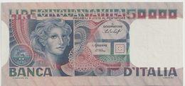 ITALY P. 107a 50000 L 1978 AUNC - [ 2] 1946-… : République