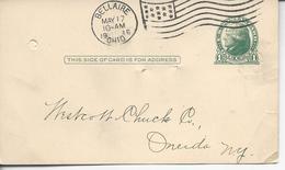 De Bellaire Ohio 1c Jefferson 1916