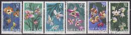 VIETNAM 1966 FLOWERS,ORCHIDS  SET  USED